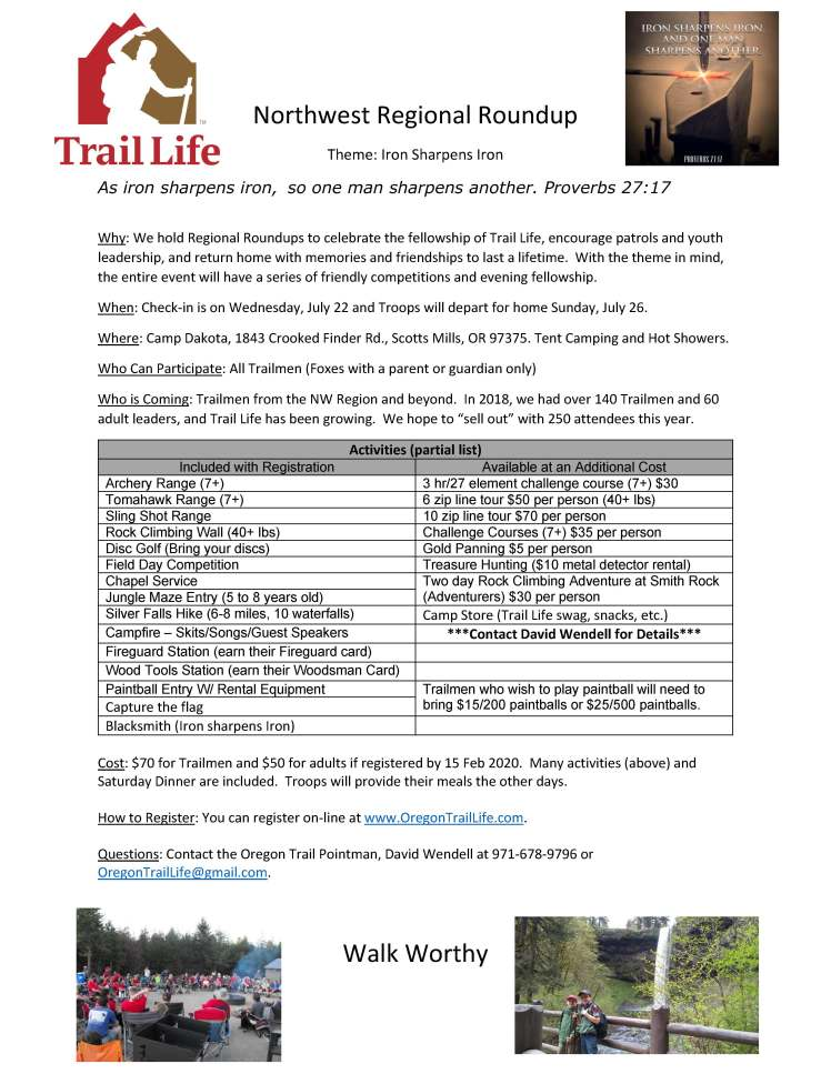 Northwest Regional Roundup - Poster